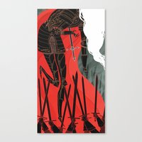 Knight Of Swords Canvas Print