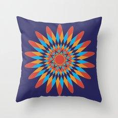 Kaleidoscope Quilt Throw Pillow