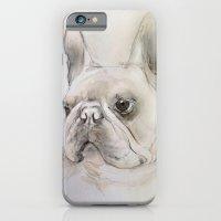 Frenchie Portrait iPhone 6 Slim Case