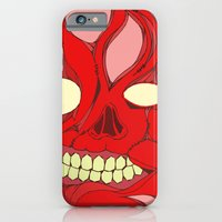 iPhone & iPod Case featuring Naked Face by  Grotesquer