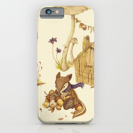 Harvey the Greedy Chipmunk iPhone & iPod Case