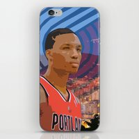 Portland TrailBlazers Damian Lillard   iPhone & iPod Skin