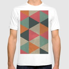 Springtime Vibes Mens Fitted Tee SMALL White