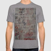 Fact51 Mens Fitted Tee Athletic Grey SMALL