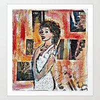 THE VILLAGE VAMPIRE Art Print