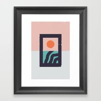 Sunsubiro Framed Art Print