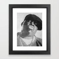 Notorious B.I.G Framed Art Print