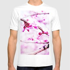 Spring White Mens Fitted Tee SMALL
