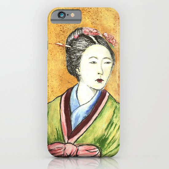 Japanese Woman iPhone & iPod Case