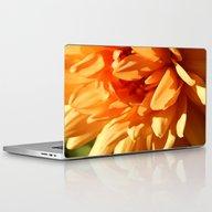 Vermont Autumn Golden Fl… Laptop & iPad Skin