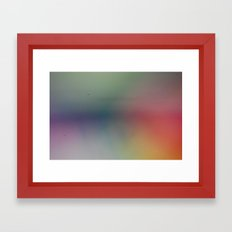 Abstract Pastels Framed Art Print