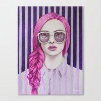 Close Up 11 Canvas Print