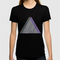 Dark Womens Fitted Tee Black SMALL