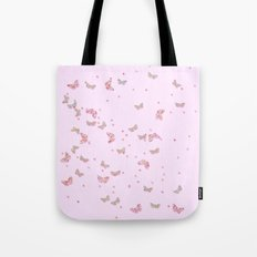 Butterflies Diamonds And… Tote Bag