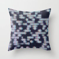 Painted Attenuation 1.2.3 Throw Pillow