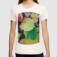 After Rain Womens Fitted Tee Natural SMALL