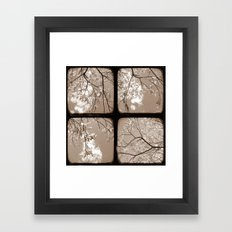 Look Through My Window - Through The Viewfinder (TTV) - Polyptych Framed Art Print