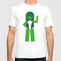 She Hulk Mens Fitted Tee White SMALL