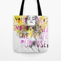 Give me purpose  Tote Bag