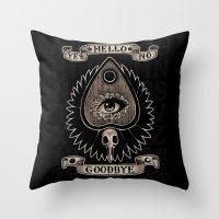 Planchette Throw Pillow