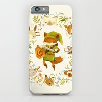 fox iPhone & iPod Cases featuring The Legend of Zelda: Mammal's Mask by Teagan White