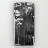 White Forest iPhone & iPod Skin