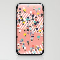 Crossing The Street On A… iPhone & iPod Skin