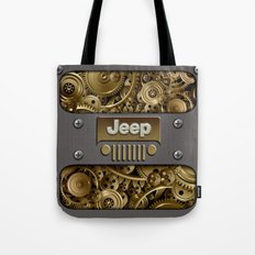Steampunk Jeep with Gear machines iPhone 4 4s 5 5c 6, pillow case, mugs and tshirt Tote Bag