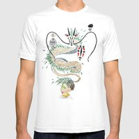 Spirited Away Mens Fitted Tee White SMALL