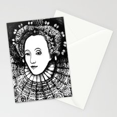 Queen Elizabeth I Portrait  Stationery Cards