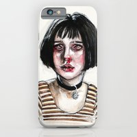 iPhone Cases featuring mathilda by Lucas David