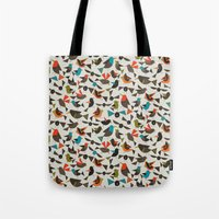 just birds china white Tote Bag