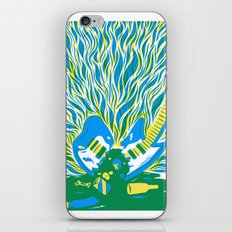 Guitar Explosion iPhone & iPod Skin