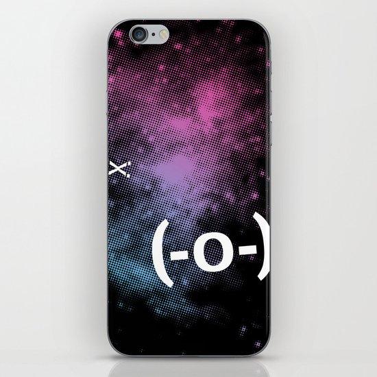 Typospacechase iPhone & iPod Skin