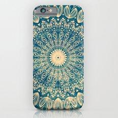 BLUE ORGANIC MANDALA iPhone 6s Slim Case