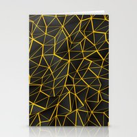 Yellow Wire Stationery Cards