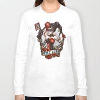 WILD CARD (blackout Vari… Long Sleeve T-shirt