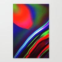 Seismic Folds Canvas Print