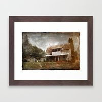 Maison numero huit-cent soixante-six Framed Art Print
