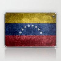 The national flag of the Bolivarian Republic of Venezuela -  Vintage version Laptop & iPad Skin
