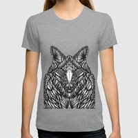 Dream Creatures Womens Fitted Tee Tri-Grey SMALL