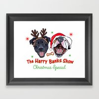 Harry Banks Show Christmas Special  Framed Art Print