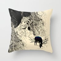 Safer Waters Throw Pillow