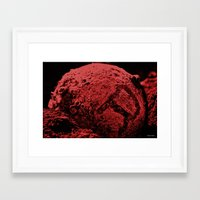 R the Red Planet Framed Art Print