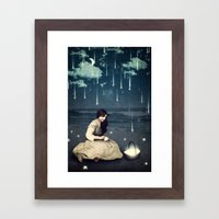 A Basket Of Wishes Framed Art Print
