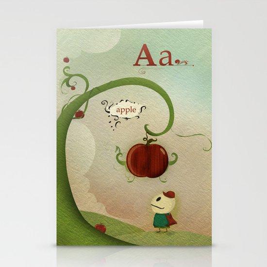 Apple Stationery Card