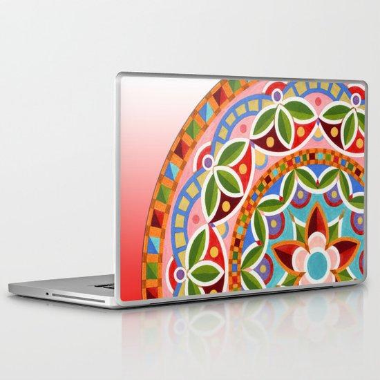 Circus Mandala Laptop & iPad Skin