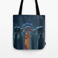 Monk In Modern Times Tote Bag