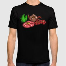 Pokemon: This Garden is Odd... ish SMALL Mens Fitted Tee Black