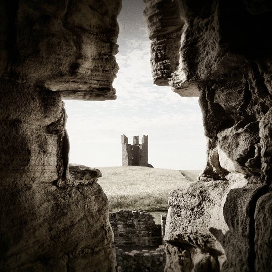 Dunstanburgh Castle II Canvas Print